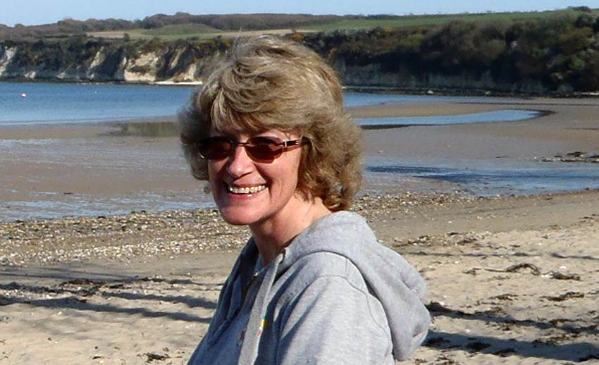 Author Jane Cable on her Sherpa Expeditions Isle of Wight walking holiday
